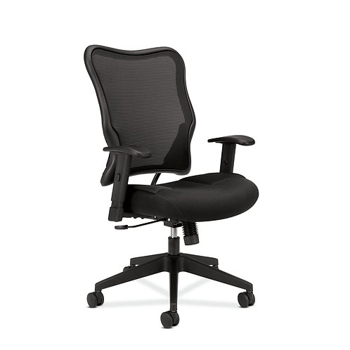 HON Wave Mesh High-Back Task Chair | Synchro-Tilt | Adjustable Arms
