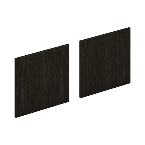 "HON Mod Laminate Doors | Set of 2 | 66""W | Java Oak Finish"