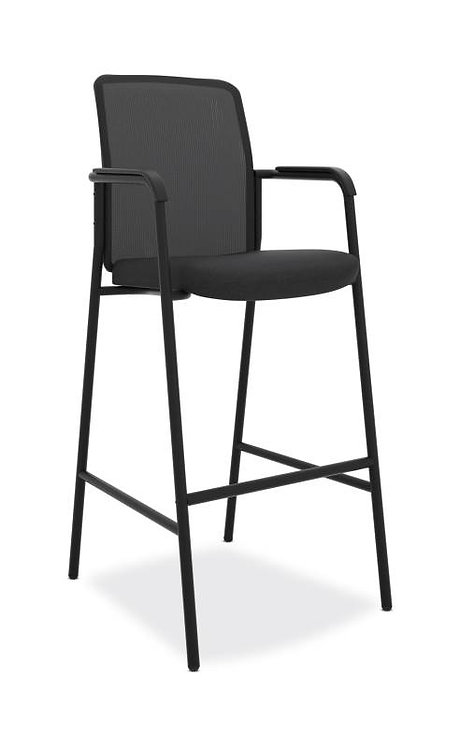 HON Instigate Cafe-Height Stool | Fixed Arms