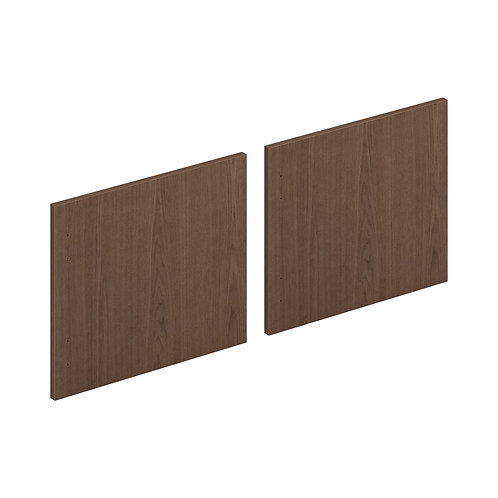 "HON Mod Laminate Doors | Set of 2 | 72""W | Sepia Walnut Finish"
