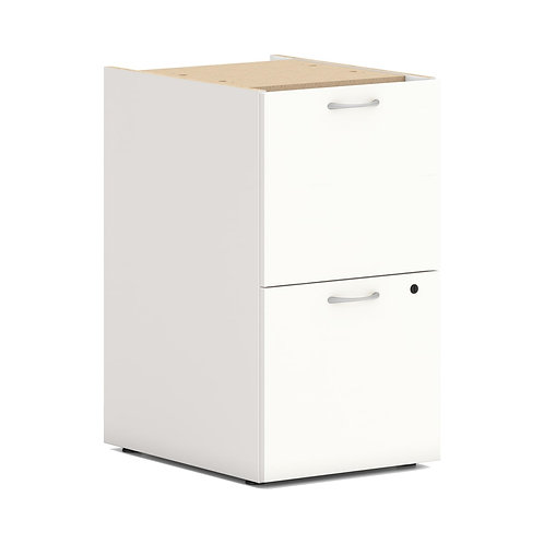 "HON Mod Support Pedestal | 2 File Drawers | 15""W"