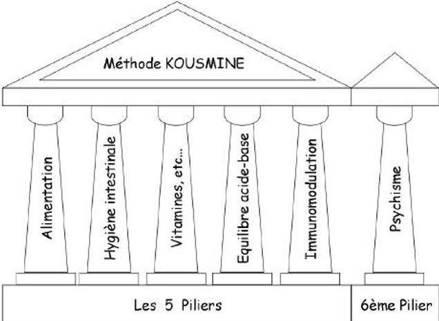 les 6 piliers de la méthode kousmine