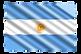 association kousmine argentine, drapeau argentine