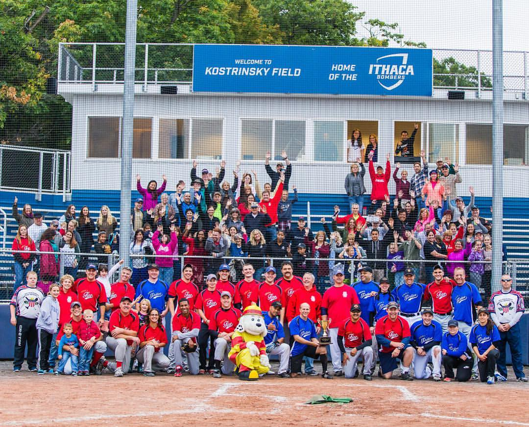 Ithaca Police-Fire Charity Softball