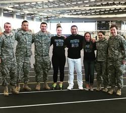 Uniforms United Military Fundraiser