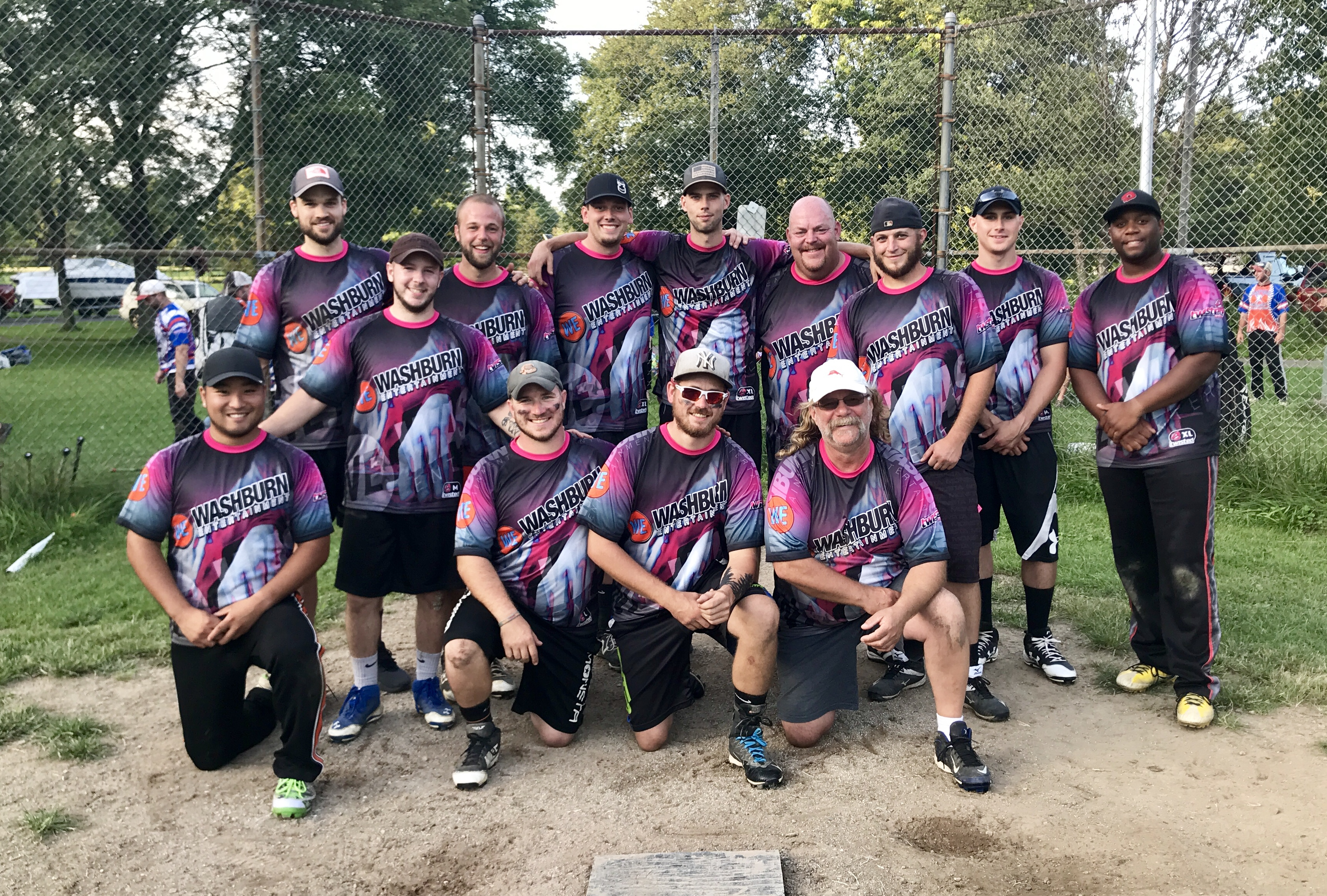 Ithaca Mens Softball Team 2018