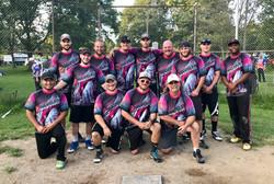 Ithaca Mens Softball Team 2018
