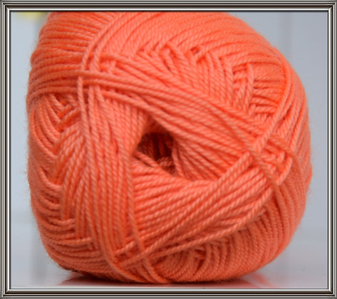 *Perlé 3C orange*