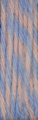 * Cozy Wool Super rose/bleu *