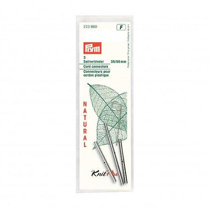 Jonction d'aiguille circulaire Knit Pro natural