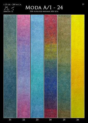 "Seta Colors vert  ""Tropical lane"""