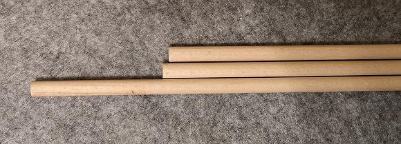 Baguette en bois Ø 1cm x 50cm