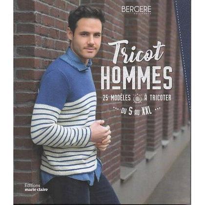 Tricot homme 25 modèles à tricoter