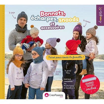 Bonnets, écharpes, snoods et accessoires pour toute la famille