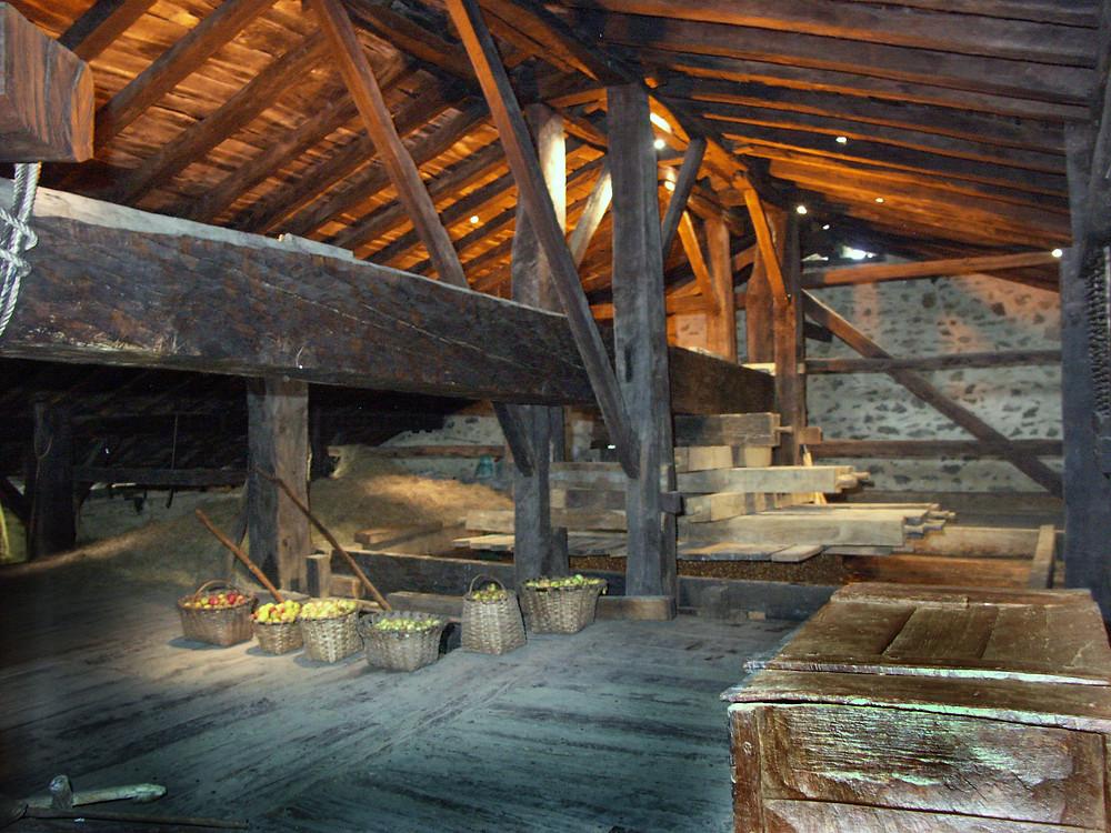 Деревянная структура дома-музея Igaturbeiti Baserria
