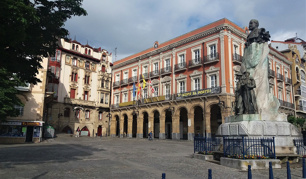 Побережье Бискайи: Португалете (Страна Басков, Испания)
