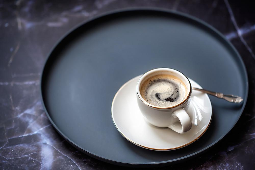 """Чёрный кофе, который исанцы называют """"кафе соло"""" (фото: Salima Senyavskaya)"""