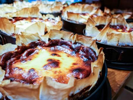 Баскские десерты и пирожные