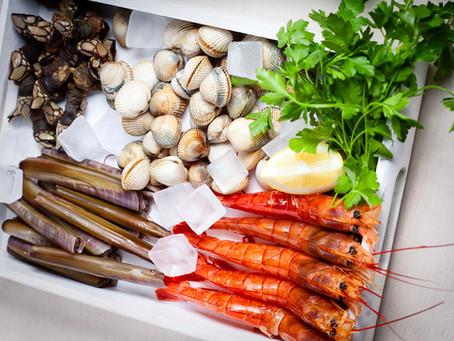 Морепродукты в Испании: морские гребешки и другие моллюски