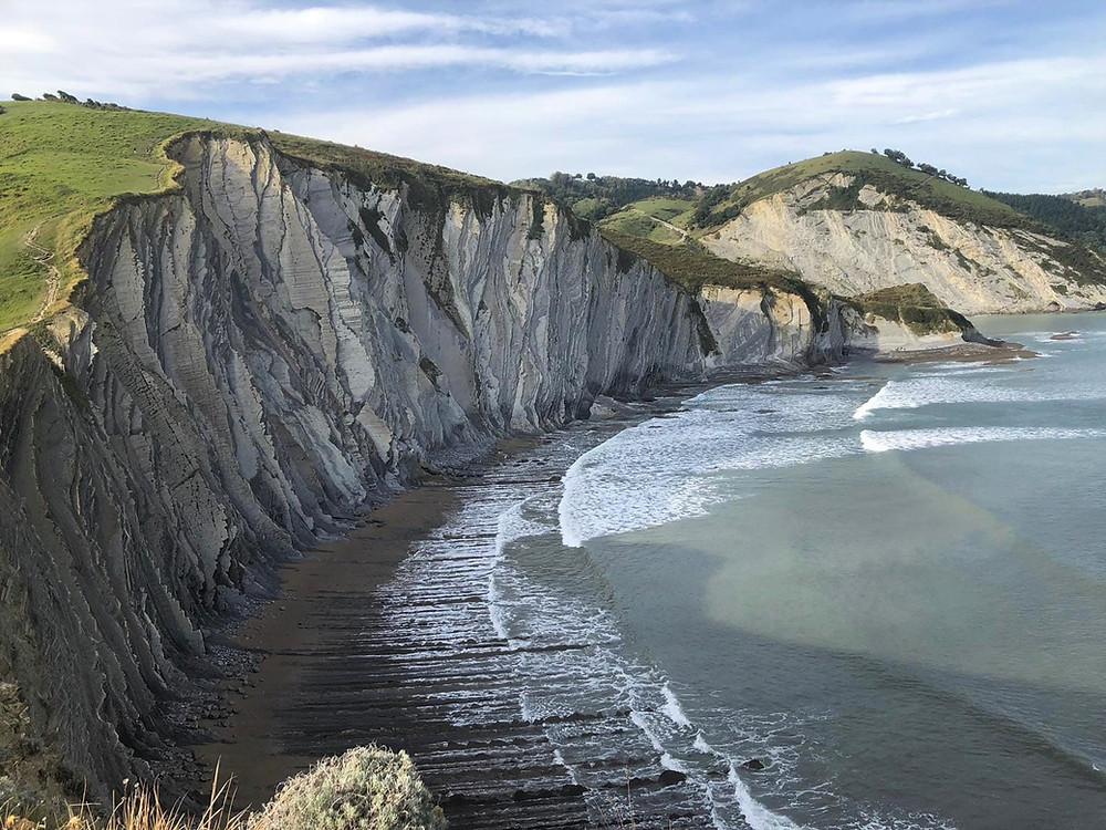 Геопарк Баскского побережья: флиш