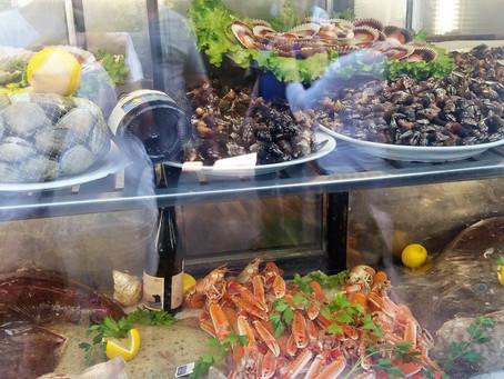 Морепродукты в Испании: крабы, креветки и прочая ракообразная братия