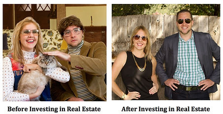 Jo and Nick Investing in real estate