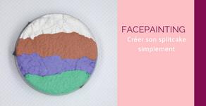 Facepainting : créer son splitcake facilement