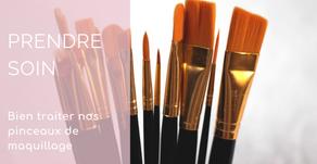 Comment prendre soin de nos pinceaux de maquillage