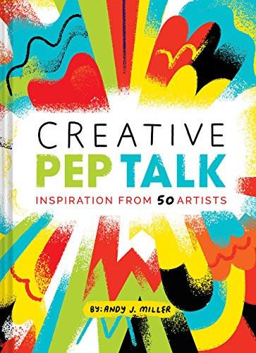 couverture de livre créative pep talk