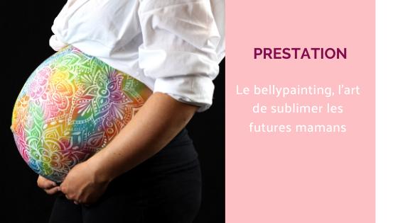 bellypainting bodypainting femme enceinte