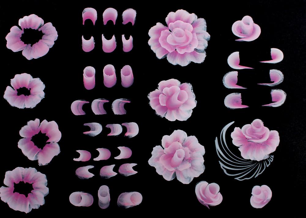 facepainting pratique artistique fleurs