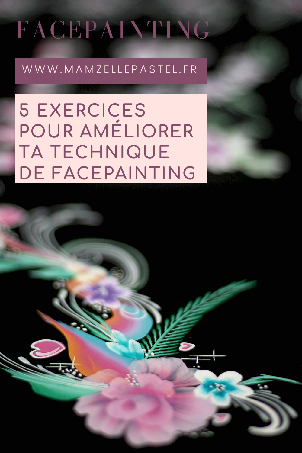épingle pinterest facepainting