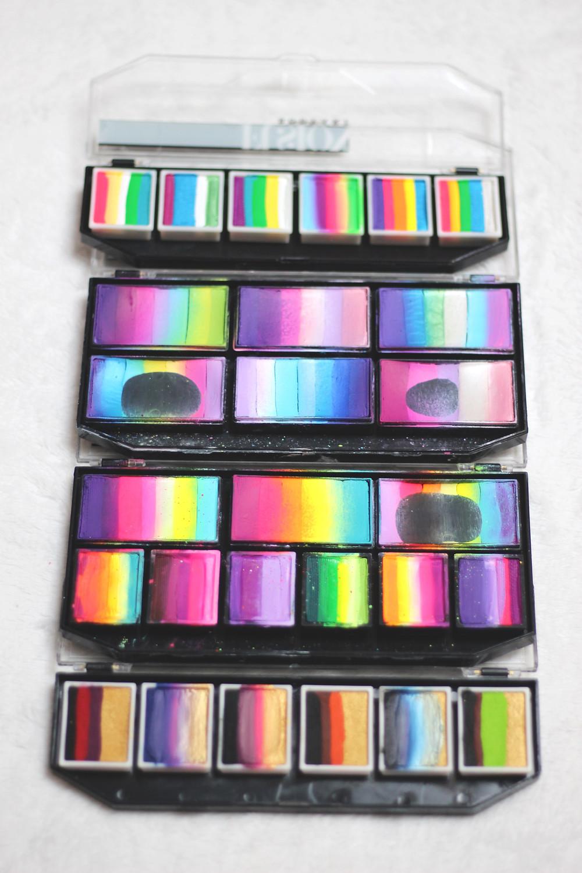 palette de maquillage maquillage à l'eau