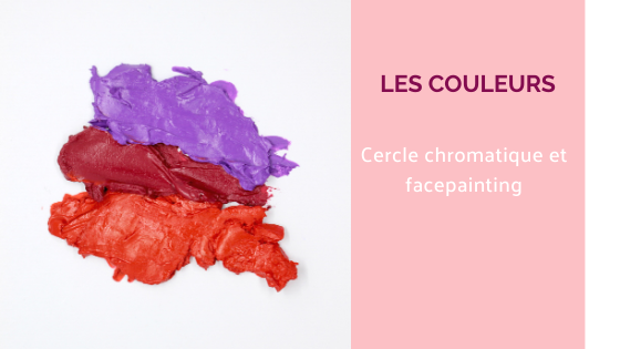 cercle chromatique facepainting couleurs maquillage