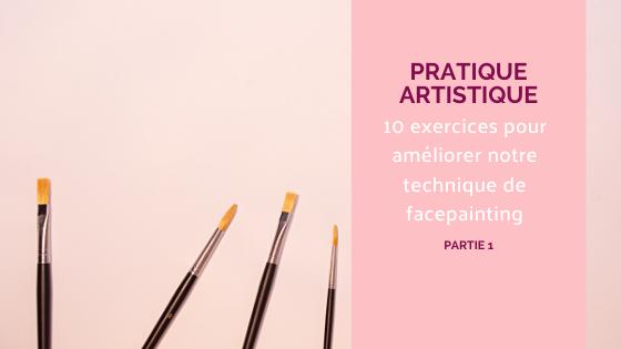 facepainting pinceaux maquillage artistique