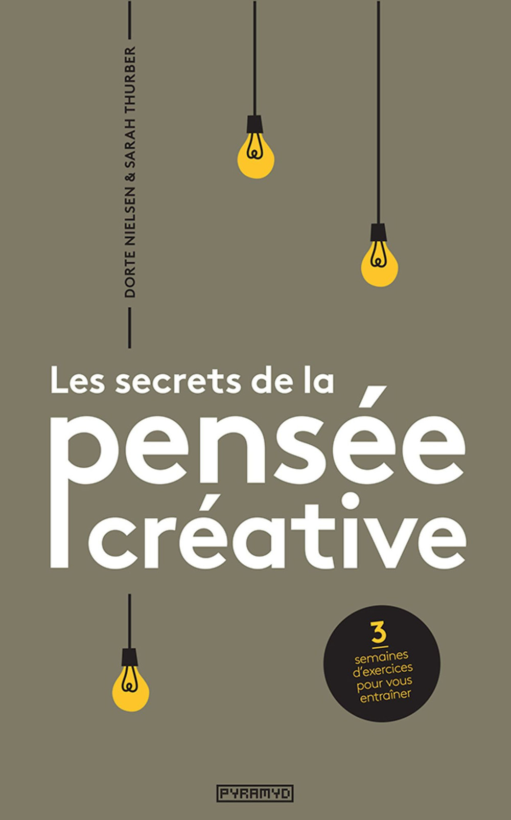 couverture livre les secrets de la pensée créative