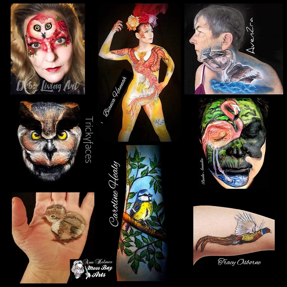 facepainting bodypainting maquillage artistique