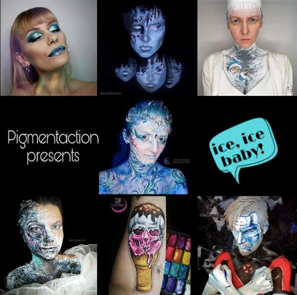 face painting bodypainting vie d'artiste