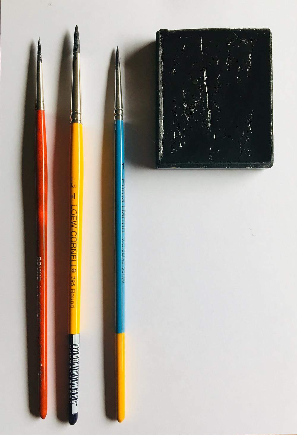 pinceau maquillage pratique artistique