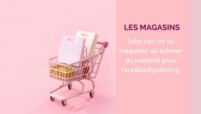 10 magasins de maquillage pour te procurer du matériel de face&bodypainting