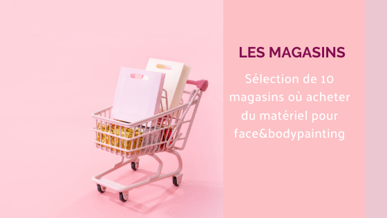 magasin maquillage paillettes maquillage artistique