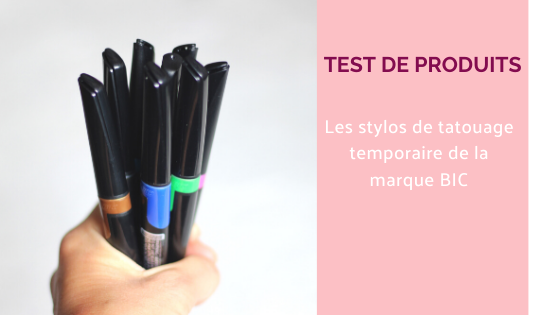 stylos  maquillage tatouage temporaire