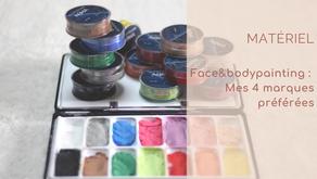 Maquillage artistique : mes 4 marques préférées