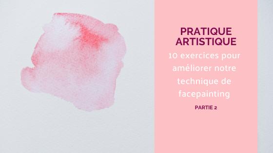 facepainting pratique artistique aquarelle