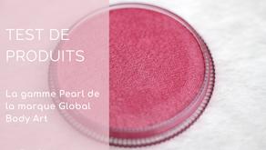 La gamme Pearl de la marque Global Body Art