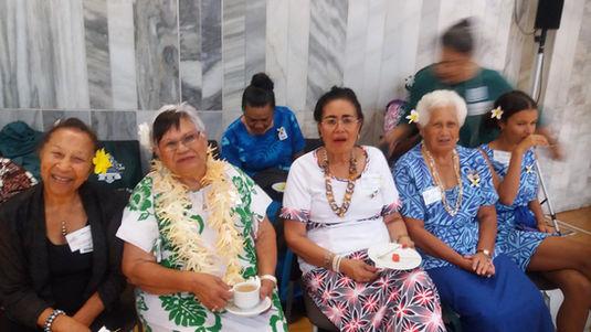 Frances Campbell, Faasiu, Anna Marshall (RIP)
