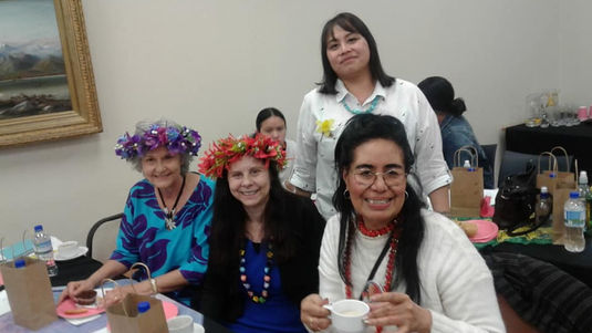 Leitu, Fa'asi'u and other members at Northern Region Mini Conference  Sep 2019