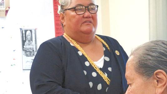 Apoua Fuatavai-O'Brien, President Invercargill Branch