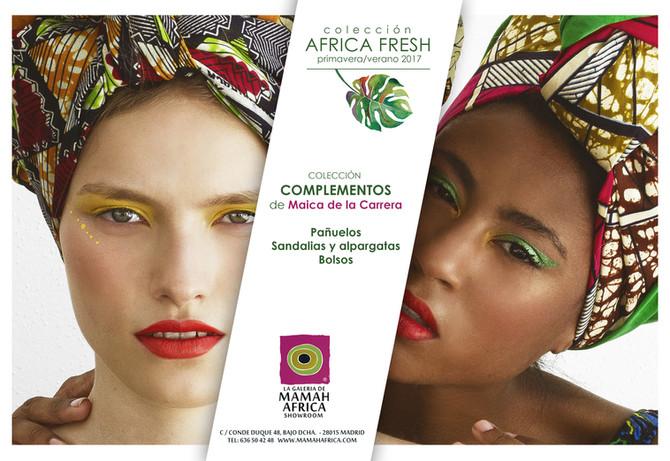 """Diseños con el corazón: colección """"ÁFRICA FRESH"""" Primavera-Verano 2017"""