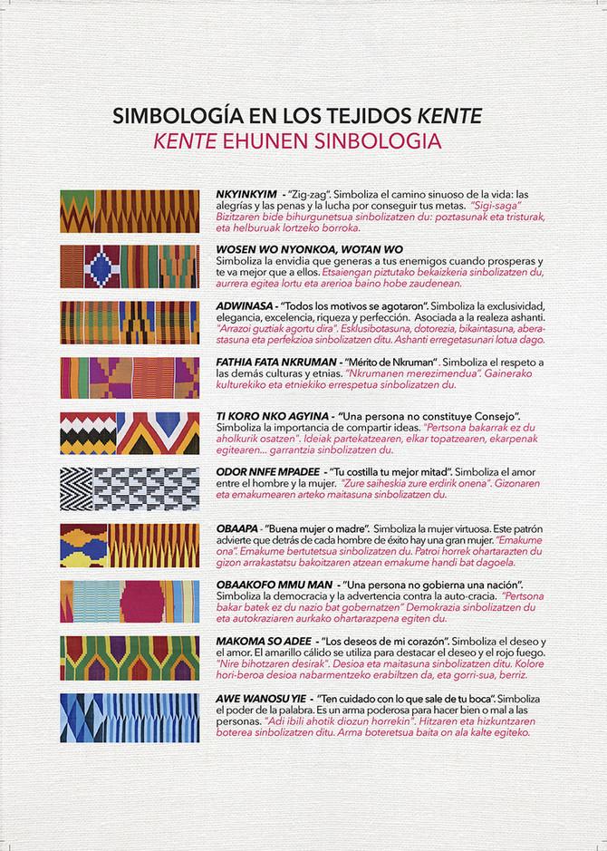 EL LENGUAJE DE LAS TELAS, Arte texil en África occidental